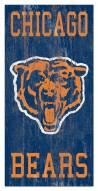"Chicago Bears 6"" x 12"" Heritage Logo Sign"