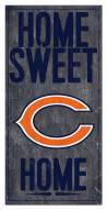 """Chicago Bears 6"""" x 12"""" Home Sweet Home Sign"""