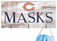 """Chicago Bears 6"""" x 12"""" Mask Holder"""