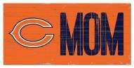 "Chicago Bears 6"" x 12"" Mom Sign"