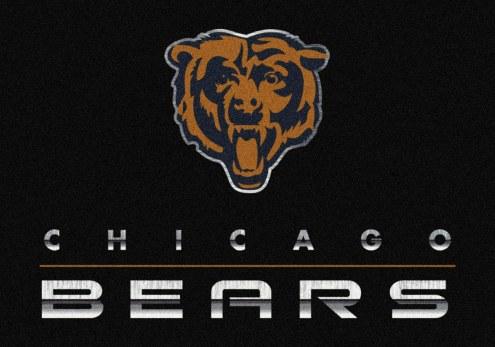 Chicago Bears 8' x 11' NFL Chrome Area Rug