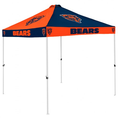 Chicago Bears 9' x 9' Checkerboard Tailgate Canopy Tent