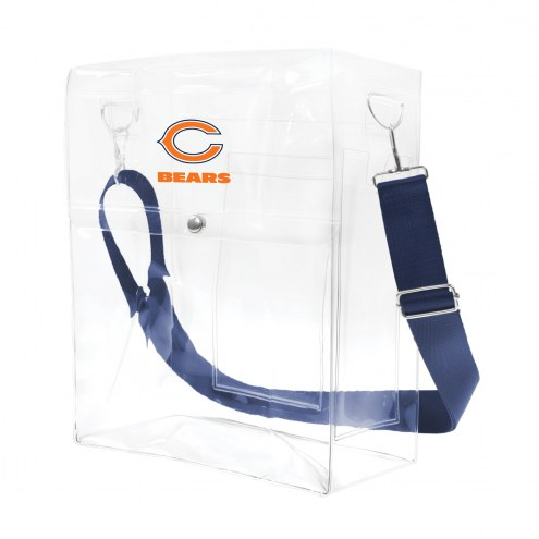 Chicago Bears Clear Ticket Satchel