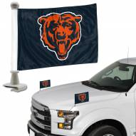 Chicago Bears Ambassador Hood & Trunk Car Flag