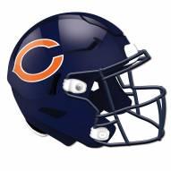 Chicago Bears Authentic Helmet Cutout Sign