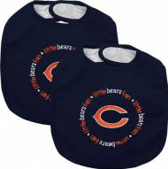 Chicago Bears Baby Bib - 2 Pack