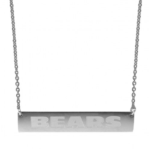 Chicago Bears Bar Necklace