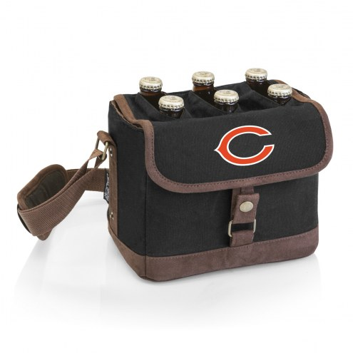 Chicago Bears Beer Caddy Cooler Tote with Opener