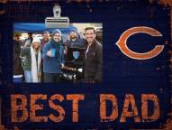 Chicago Bears Best Dad Clip Frame