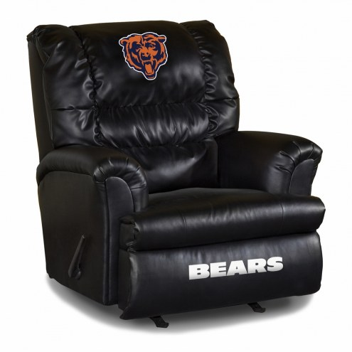 Chicago Bears Big Daddy Leather Recliner