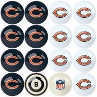 Chicago Bears Billiard Balls