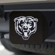 Chicago Bears Black Matte Hitch Cover