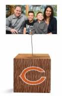 Chicago Bears Block Spiral Photo Holder