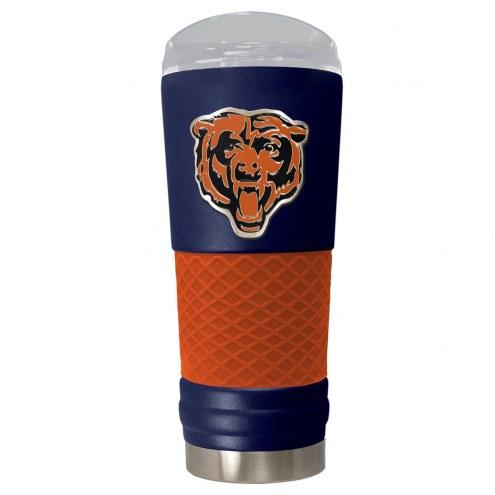 Chicago Bears Blue 24 oz. Powder Coated Draft Tumbler
