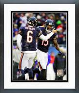 Chicago Bears Brandon Marshall & Jay Cutler Action Framed Photo