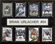 "Chicago Bears Brian Urlacher 12"" x 15"" Card Plaque"