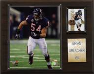 "Chicago Bears Brian Urlacher 12 x 15"" Player Plaque"