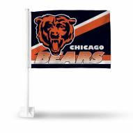 Chicago Bears NFL Car Flag