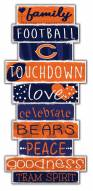 Chicago Bears Celebrations Stack Sign