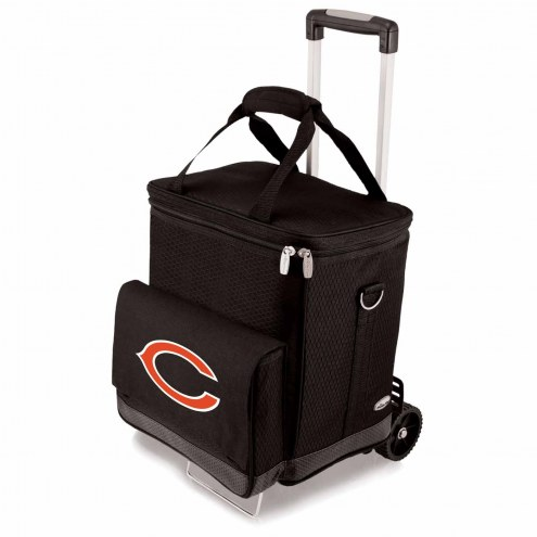 Chicago Bears Cellar Cooler with Trolley