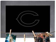 Chicago Bears Chalkboard with Frame