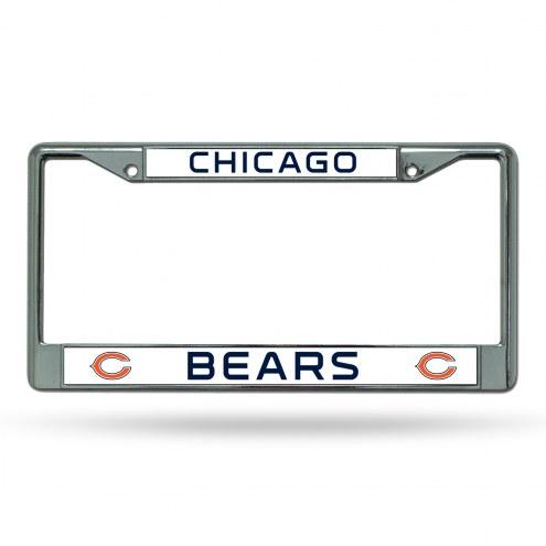 Chicago Bears Chrome License Plate Frame