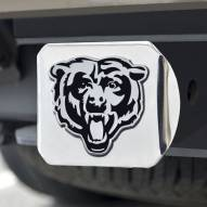 Chicago Bears Chrome Metal Hitch Cover