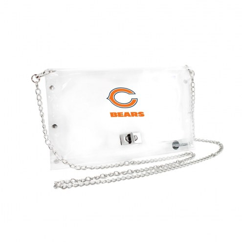 Chicago Bears Clear Envelope Purse