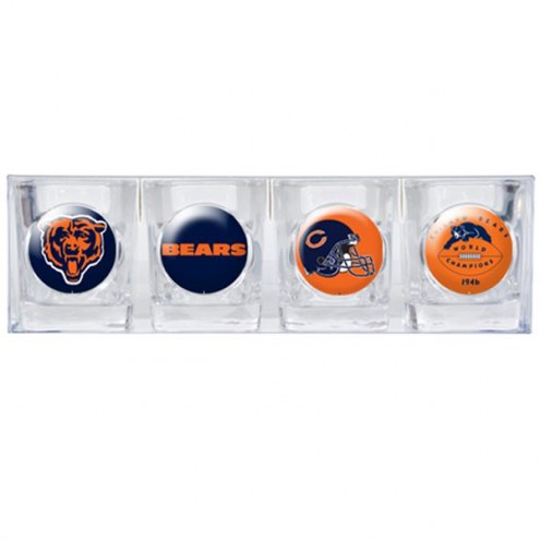 Chicago Bears Collector's Shot Glass Set