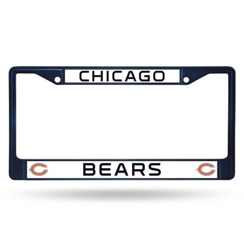 Chicago Bears Color Metal License Plate Frame