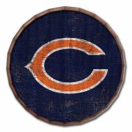 """Chicago Bears Cracked Color 24"""" Barrel Top"""