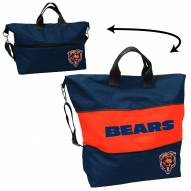 Chicago Bears Crosshatch Expandable Tote
