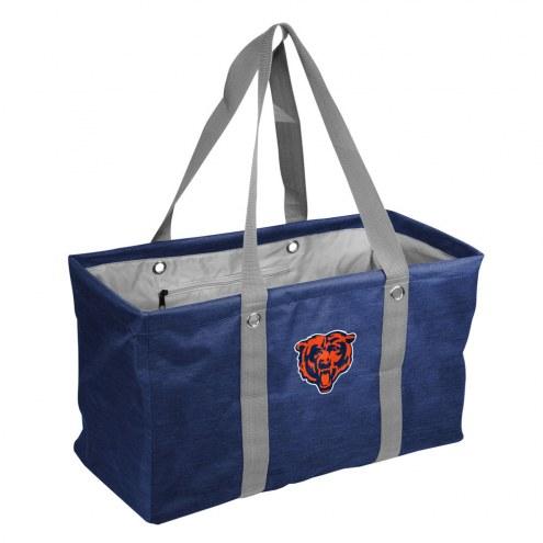 Chicago Bears Crosshatch Picnic Caddy