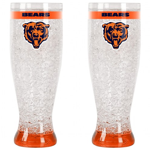 Chicago Bears Crystal Pilsner Glass