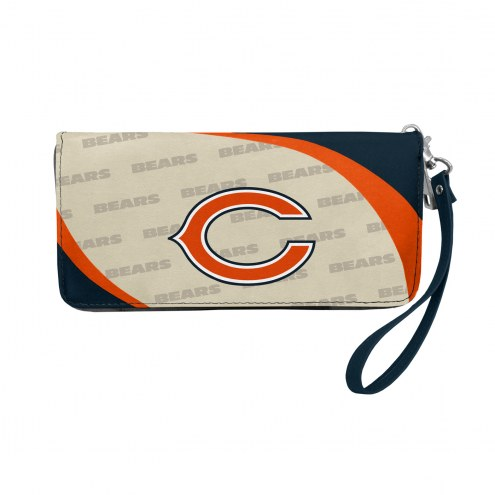 Chicago Bears Curve Zip Organizer Wallet