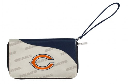 Chicago Bears Curve Zip Wallet