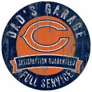 Chicago Bears Dad's Garage Sign