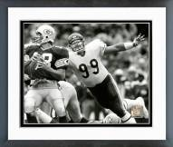 Chicago Bears Dan Hampton 1985 Action Framed Photo