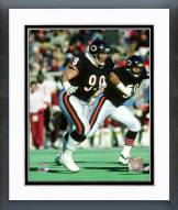 Chicago Bears Dan Hampton 1987 Action Framed Photo