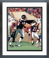 Chicago Bears Dan Hampton Action Framed Photo