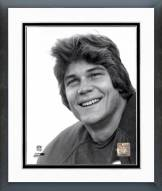 Chicago Bears Dan Hampton Black & White Head Shot Framed Photo
