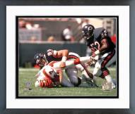 Chicago Bears Dan Hampton Quarterback sack Framed Photo