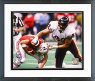Chicago Bears Dan Hampton Super Bowl XX 1986 Action Framed Photo