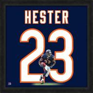 Chicago Bears Devin Hester Uniframe Framed Jersey Photo