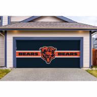 Chicago Bears Double Garage Door Cover