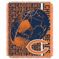 Chicago Bears Double Play Jacquard Throw Blanket