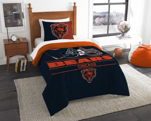 Chicago Bears Draft Twin Comforter Set