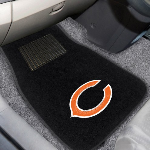 Chicago Bears Embroidered Car Mats