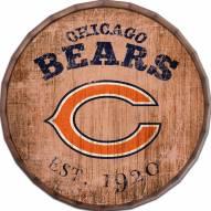"""Chicago Bears Established Date 24"""" Barrel Top"""