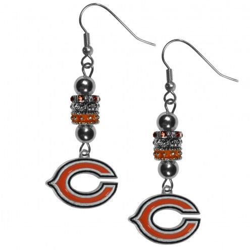 Chicago Bears Euro Bead Earrings
